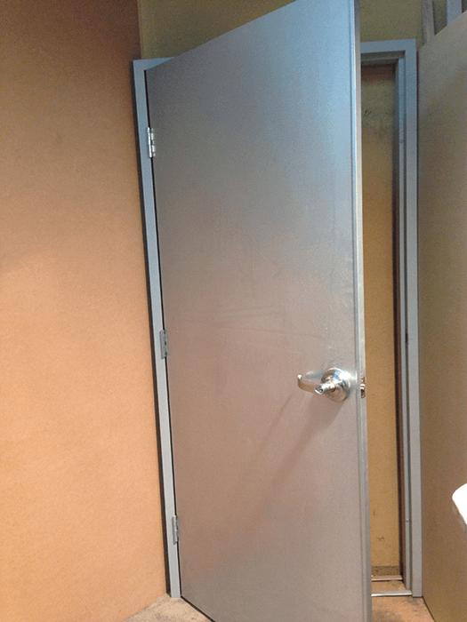 Steel Clad Exterior Doors Modular Exterior Doors Steel Door Frames Electrostatic Powder
